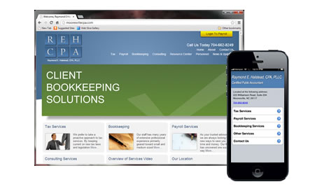 Huntersville Responsive Website Design